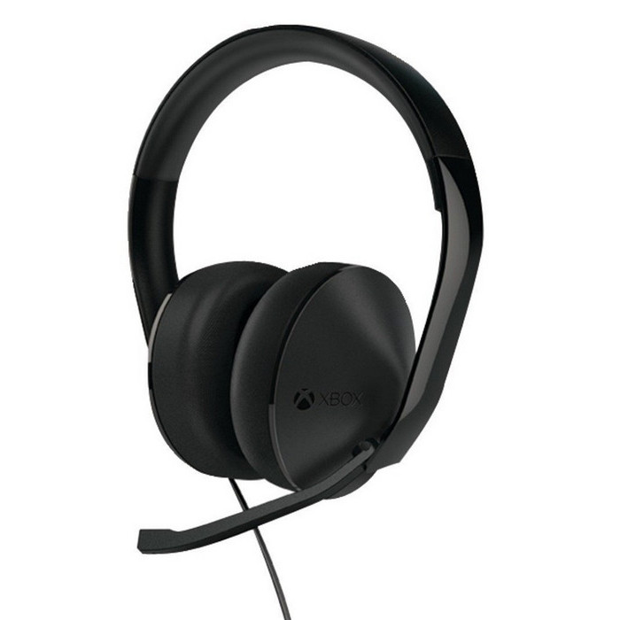 Гарнитура Microsoft Xbox One Stereo Headset Black (S4V-00010)