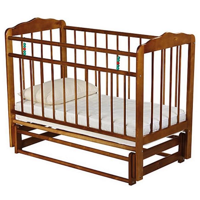 Кроватка Женечка 5 (орех)