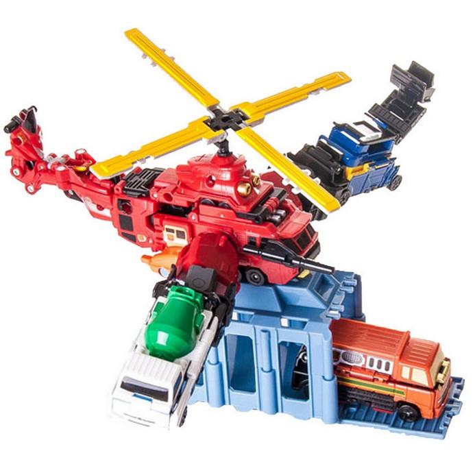 Игровой набор Voov Пожарно-спасательный вертолет (84367)