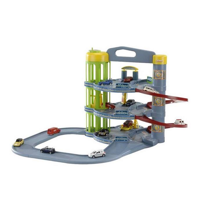 Игровой набор Majorette Парковка+5 машинок (205819)