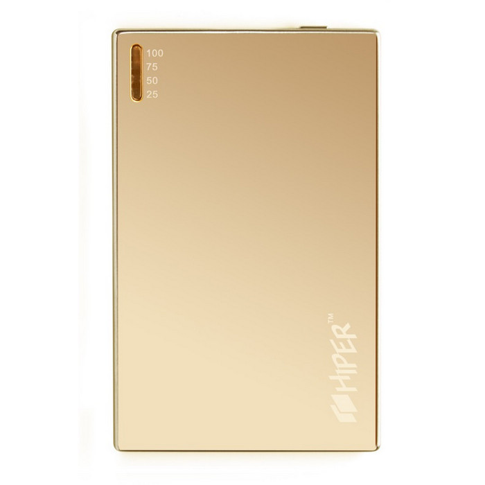 Аккумулятор HIPER SLIM2000 Golden Mirror