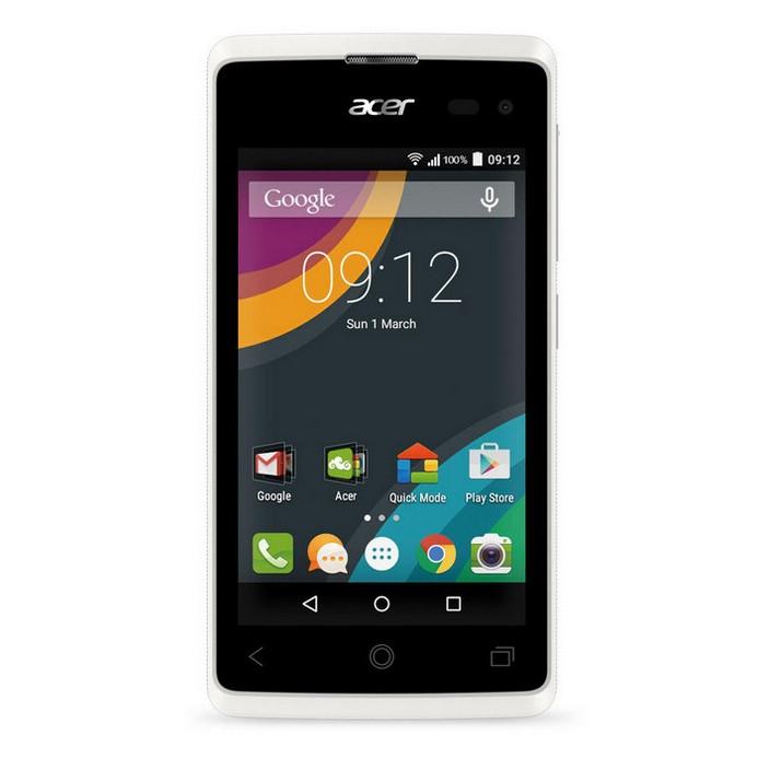 Смартфон Acer Z220 Liquid White