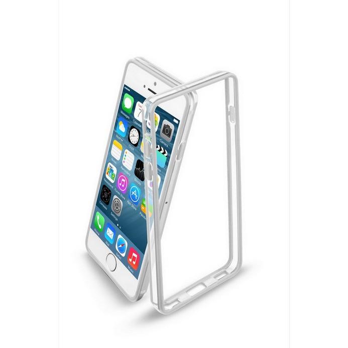 Бампер Cellular Line для iPhone 6 BUMPERIPH647W (21827) White + защитная пленка