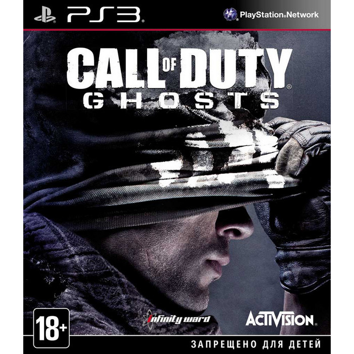 Игра для PS3 Activision Call of Duty: Ghosts (русская версия)