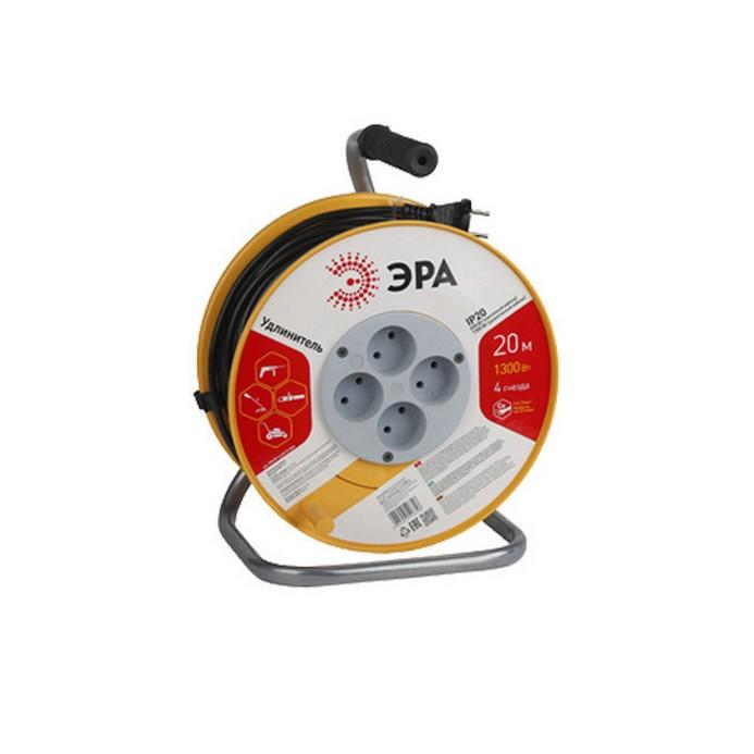 Удлинитель ЭРА RP-4-2x0.75-20m