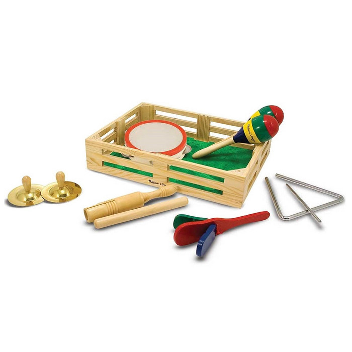 Музыкальная игрушка Melissa&Doug Музык. инструменты в коробке