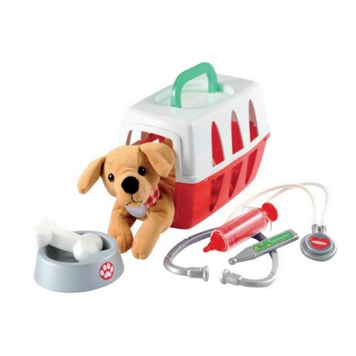 Игровой набор Ecoiffier для ветеринара в чемоданчике
