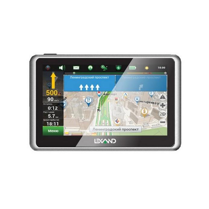 GPS-навигатор LEXAND SB5 HD