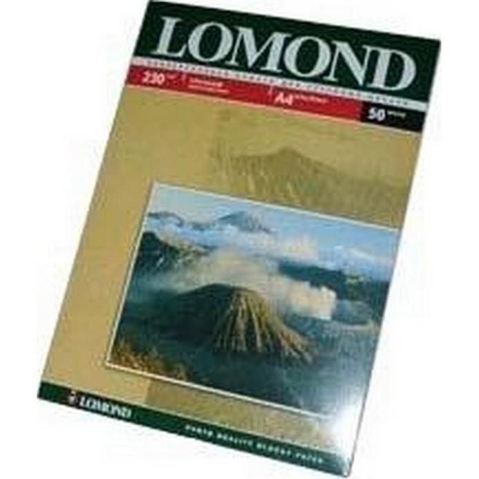 Бумага Lomond LM230 глянцевая A4/50л (0102022)