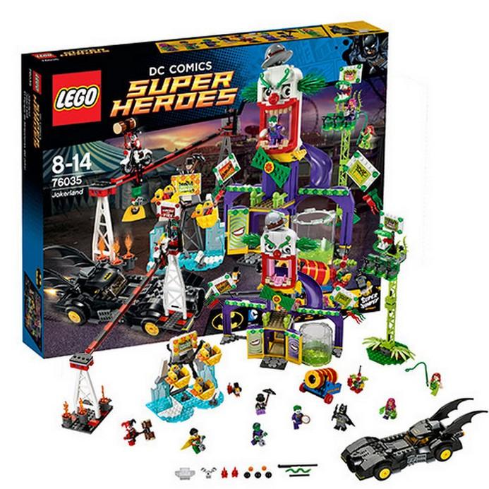 Конструктор LEGO Джокерленд (76035)