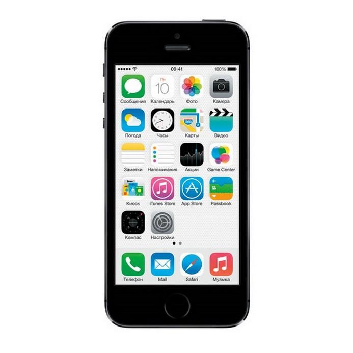 Смартфон Apple IPhone 5S как новый 16Гб gray (FF352RU/A)