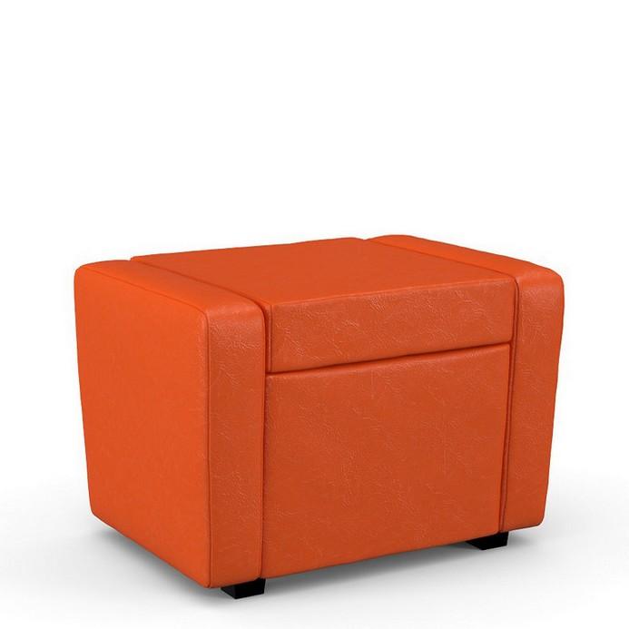 Пуф-кресло Мегаэлатон Тетри оранжевый