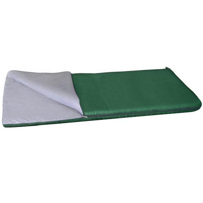 Спальный мешок Alaska Одеяло +20 С зеленый