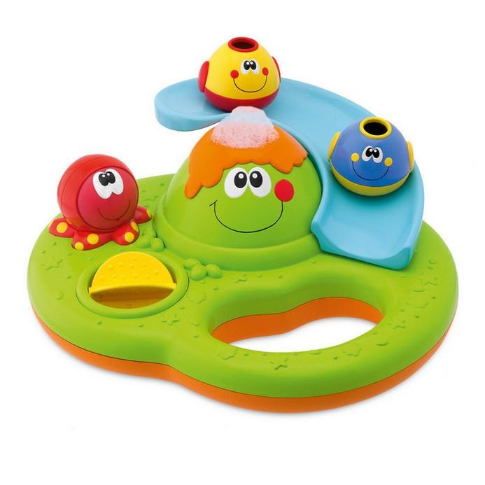 Игрушка для купания Chicco Остров с пузырьками (70106)
