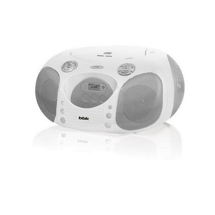 Аудиомагнитола BBK BX110U бел.