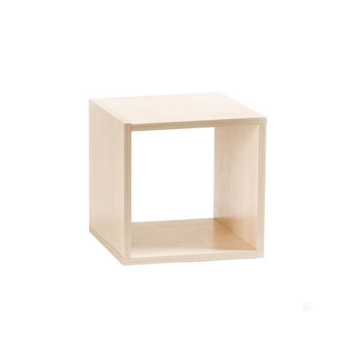 Полка Vental Кубик-1 бел.дуб