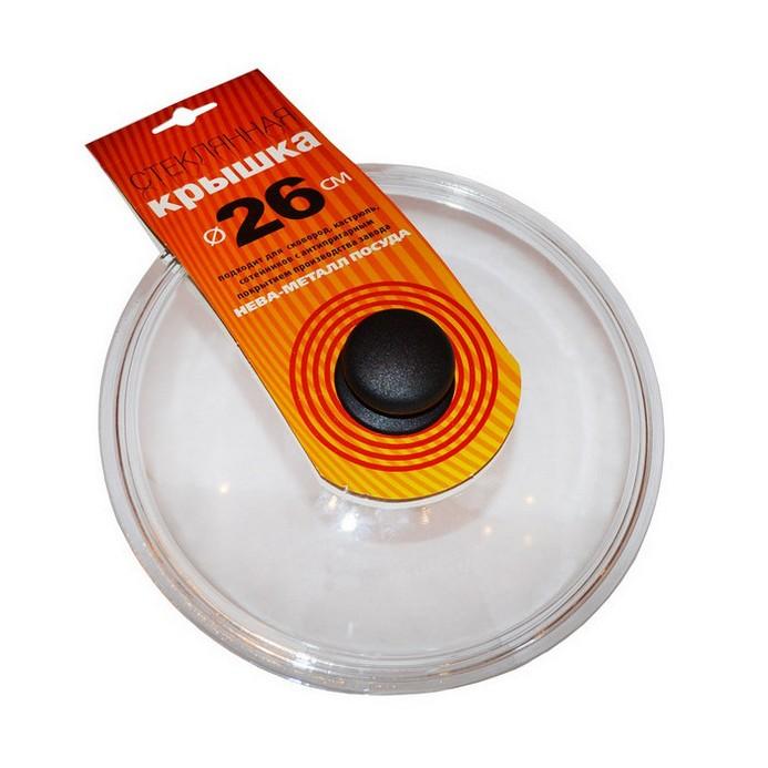 Крышка Нева металл посуда 4126  (26 см)