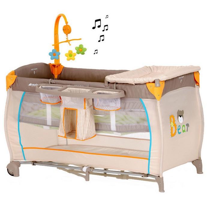 Кровать-манеж Hauck Baby Center
