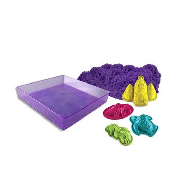 Игровой набор Kinetic sand 454 гр., лоток, 4 формочки