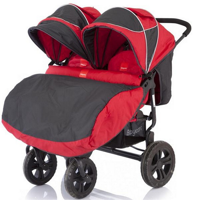 Коляска Baby Care Cruze DUO Red