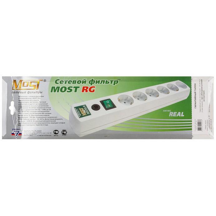 Сетевой фильтр MOST RG 2м White