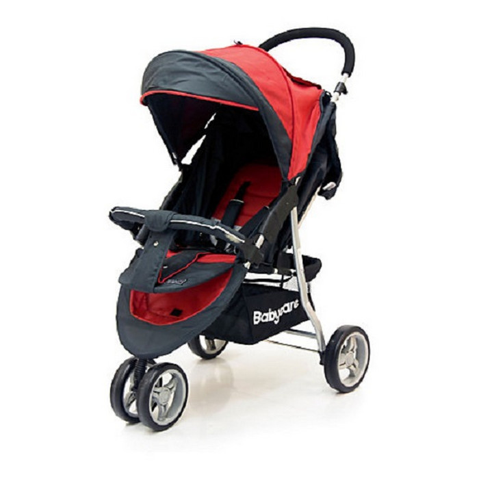 Прогулочная коляска Baby Care Jogger Lite Red