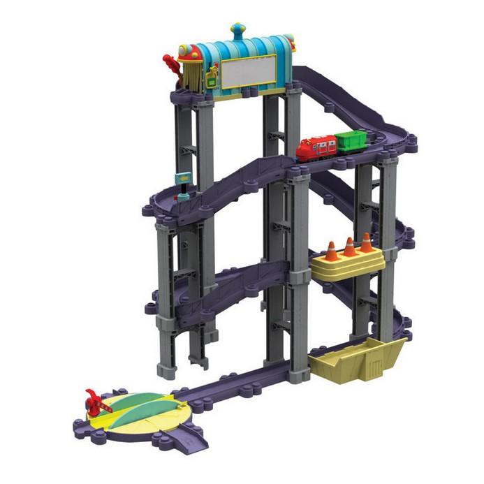 Игровой набор Chuggington Уилсон и штормовая машина (LC54220)