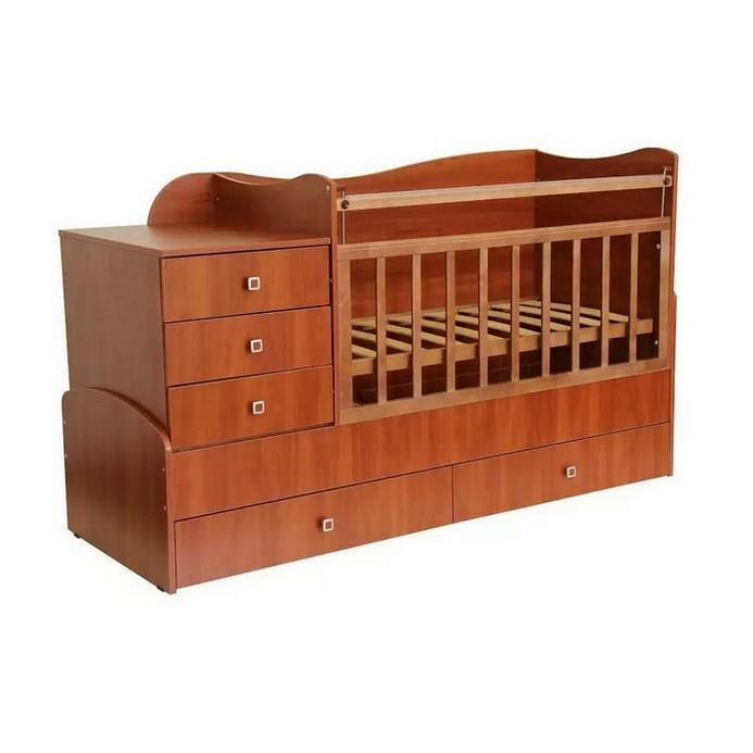 Кроватка Фея 0001034.3 (орех)