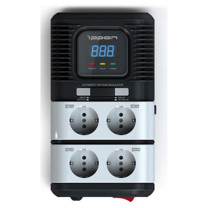 Стабилизатор Ippon STAB-1000 Black