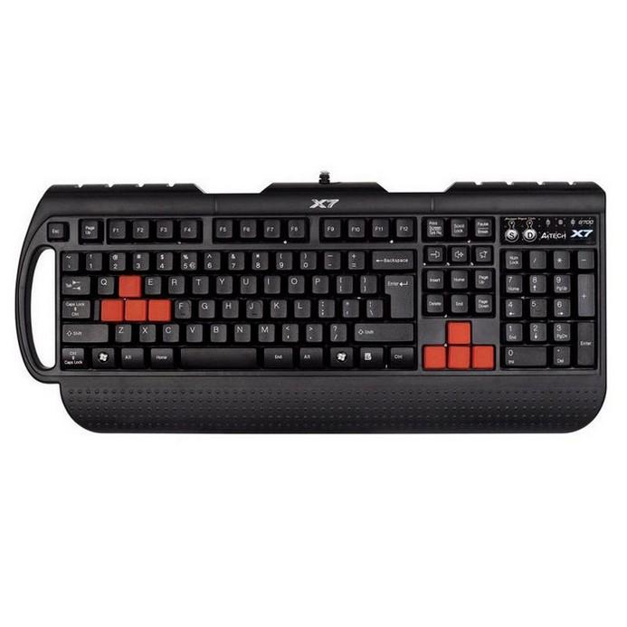 Клавиатура A4Tech X7-G700 черный