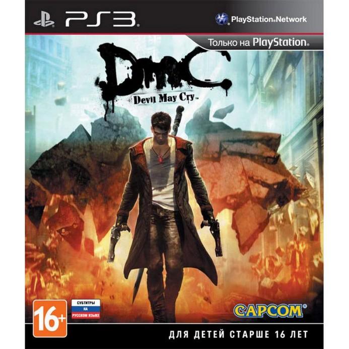 Игра для PS3 Capcom DmC Devil May Cry. Русские субтитры
