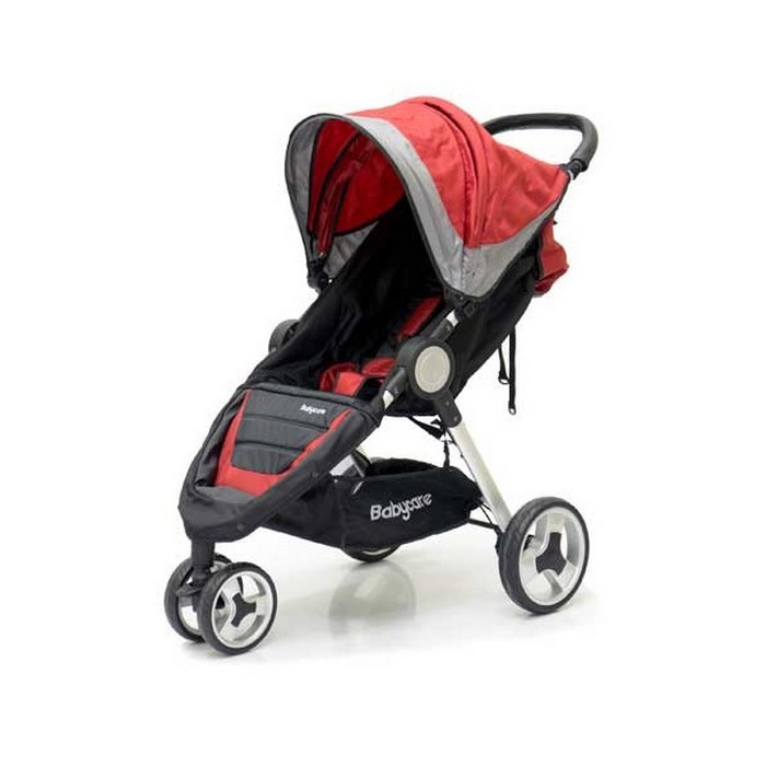 Прогулочная коляска Baby Care Variant 3 Red