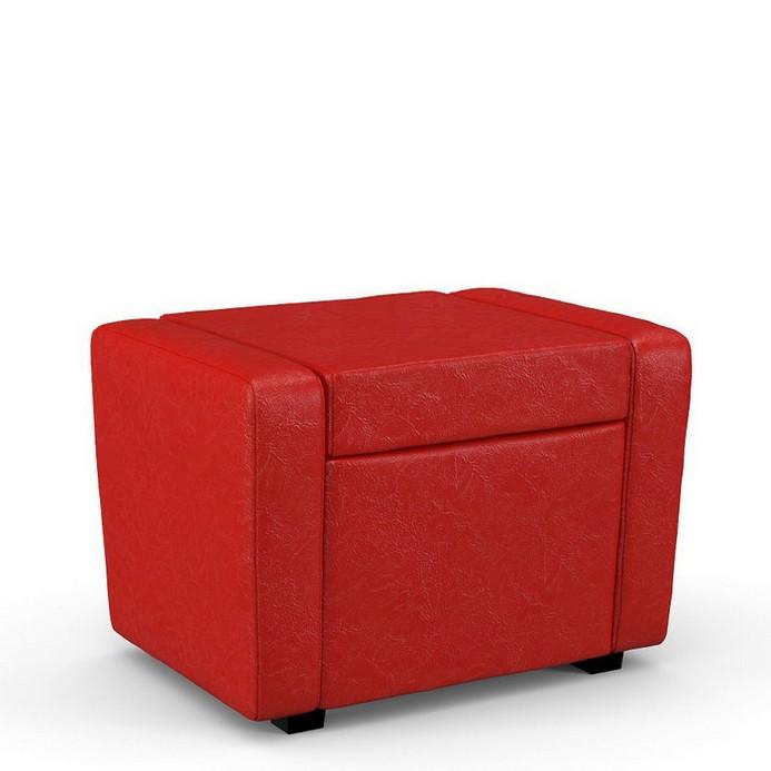 Пуф-кресло Мегаэлатон Тетри красный
