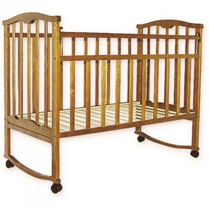 Кроватка Золушка 1 (орех)