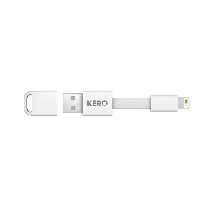 Кабель KERO NM13W (USB-Lightning) White