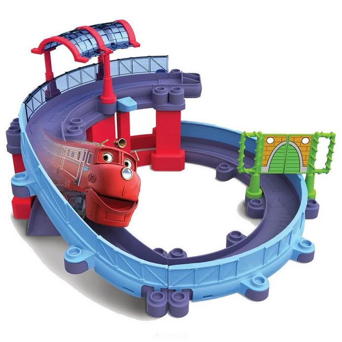 Игровой набор Chuggington Станция техосмотра с Уилсоном ((LC54237))