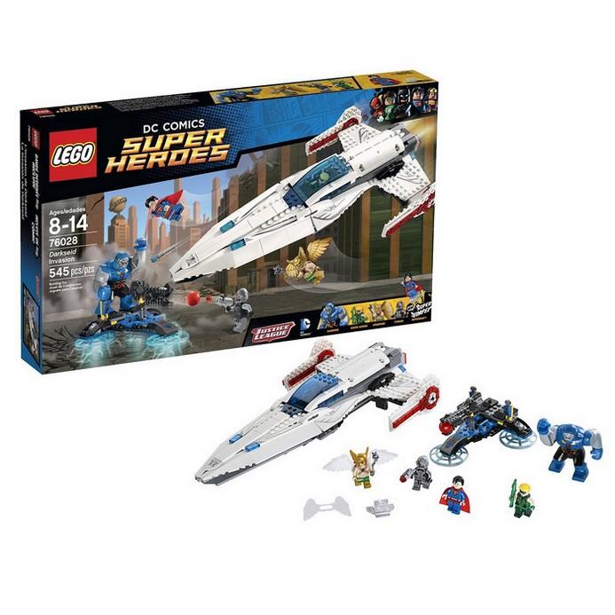 Конструктор LEGO Вторжение Дарксайда (76028)