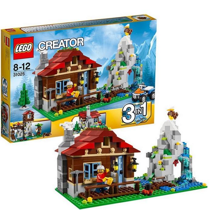 Конструктор LEGO Домик в горах (31025)