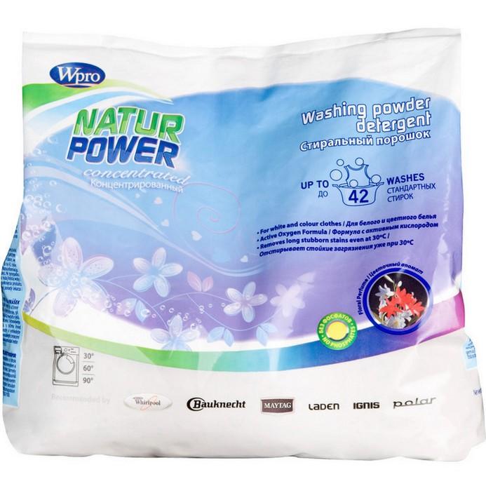 Стиральный порошок Wpro Natur Power