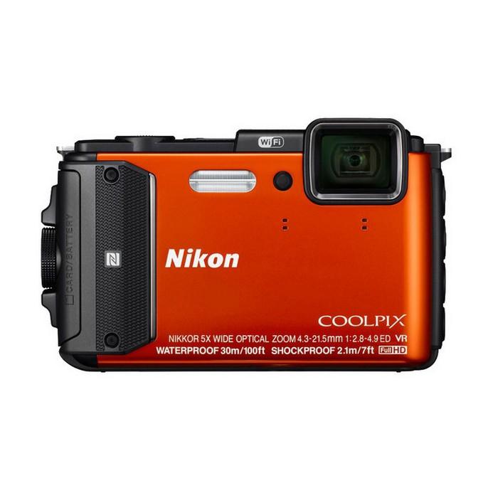 Компактный фотоаппарат Nikon Coolpix AW130 OR EU