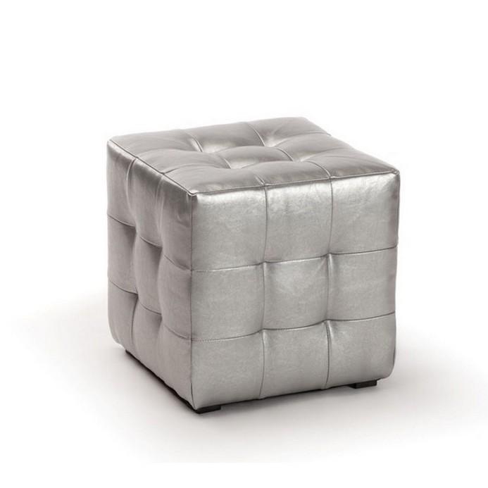 Пуфик Vental ПФ-1 серебро