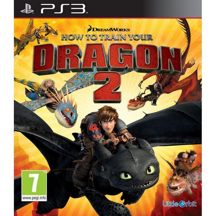 Игра для PS3 Bandai Namco Как Приручить Дракона 2 (английская версия, русская документация)
