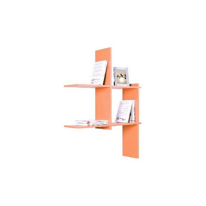 Полка Vental Кубик-3 оранжевый