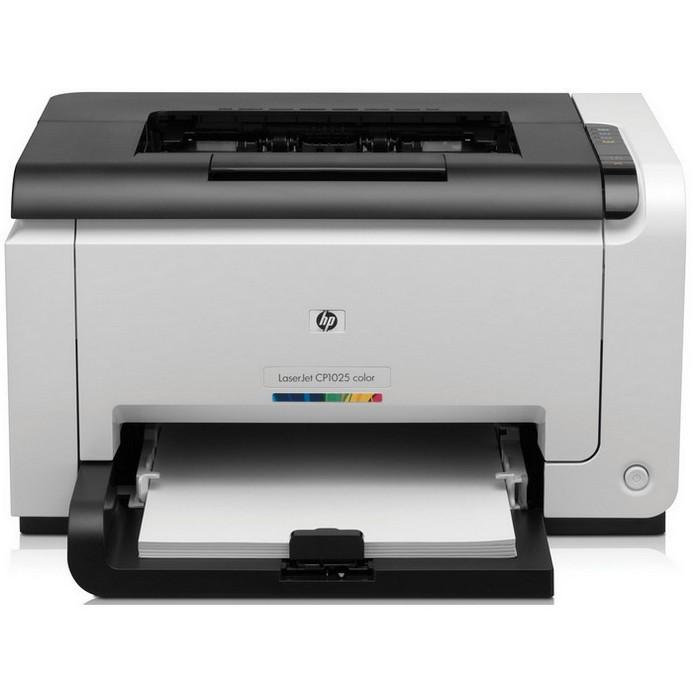 Лазерный принтер HP Color LaserJet Pro CP1025 (CF346A)