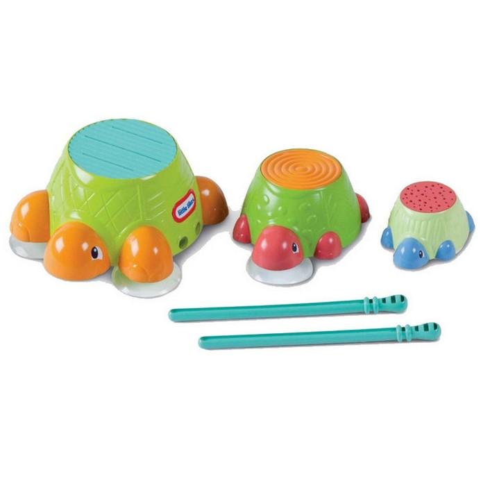 Игрушка для купания Little Tikes Черепашки-барабаны (632266)