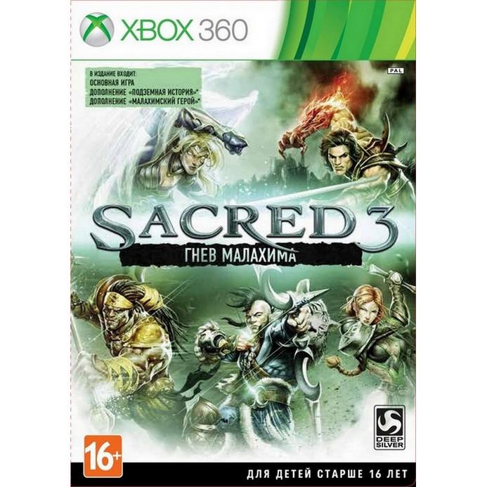 Игра для Xbox 360 Deep Silver Sacred 3: Гнев Малахима (русская документация)