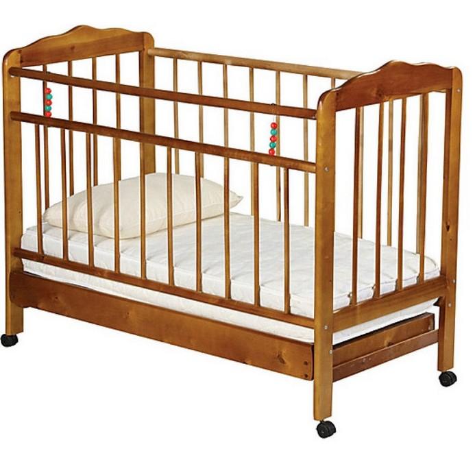 Кроватка Женечка 2 (орех)