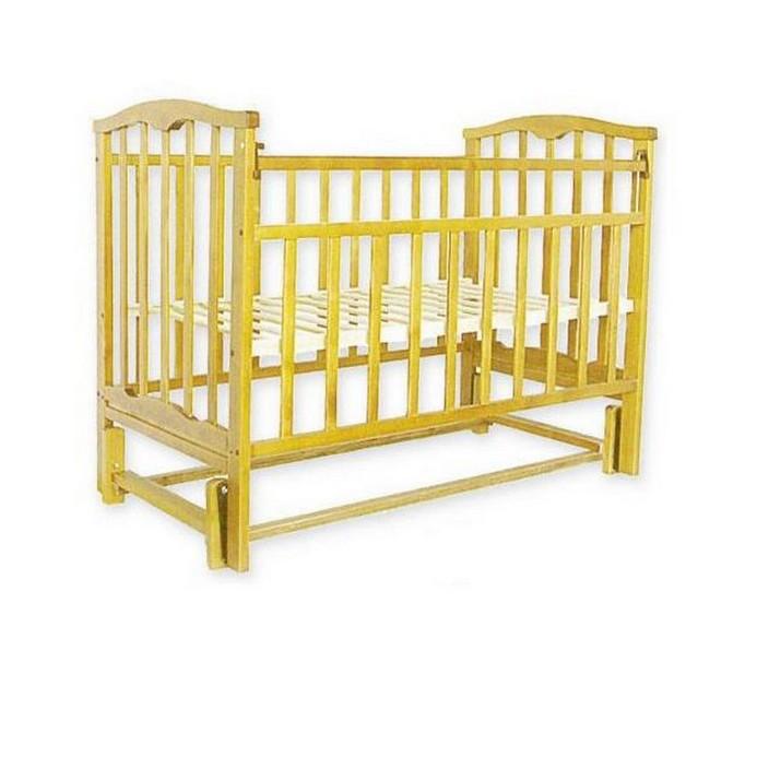 Кроватка Золушка 5 (светлый)