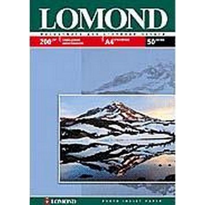 Бумага Lomond LM200 глянцевая A4/50л (0102020) 200г/м2