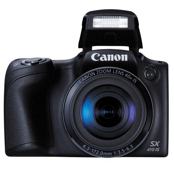 Компактный фотоаппарат Canon PowerShot PSSX410IS(BKE)